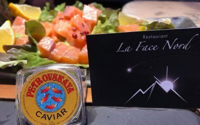 New this year, we offer caviar!