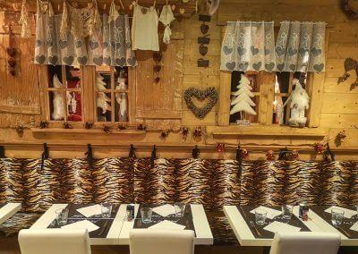 Salle restaurant la Face Nord