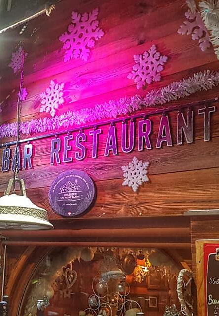 Restaurant la Face Nord à Belle Plagne