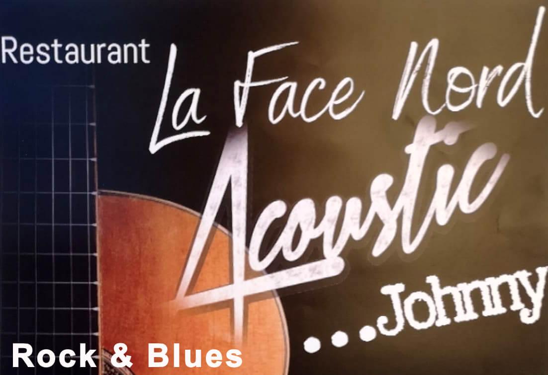 Soirée Acoustic Johnny à la Face Nord