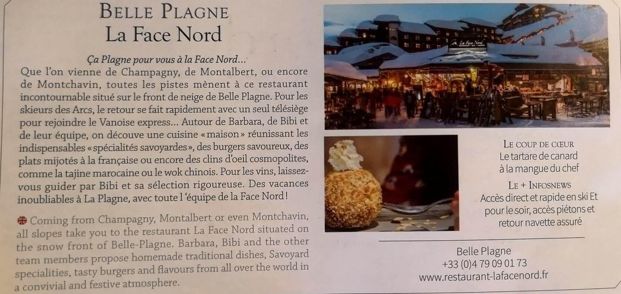 Article Info News Savoie Face Nord petit