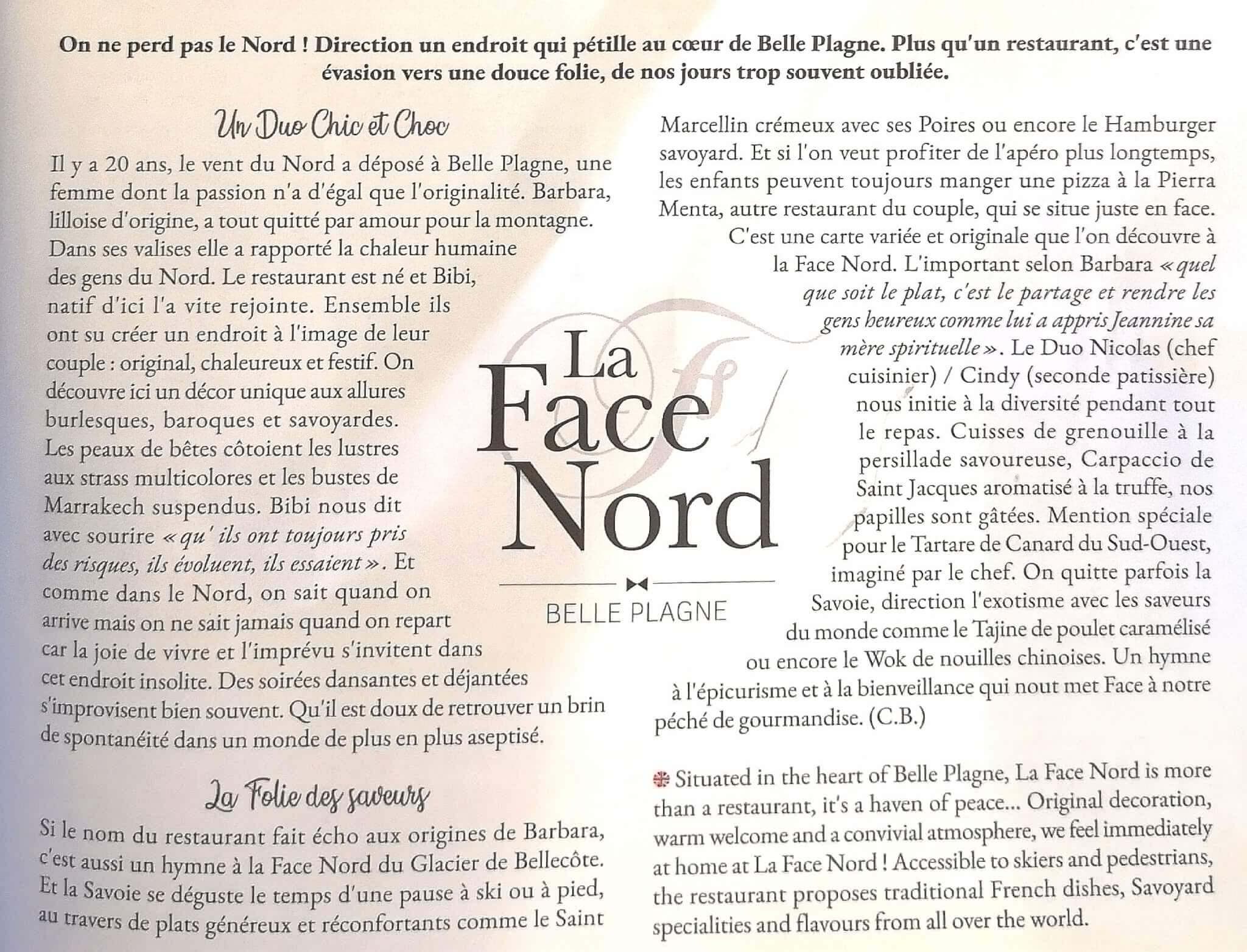 Article Info News Savoie Face Nord