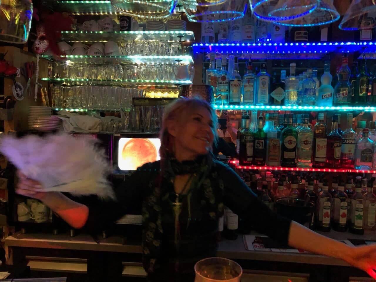 Bab La Face Nord dérrière le bar