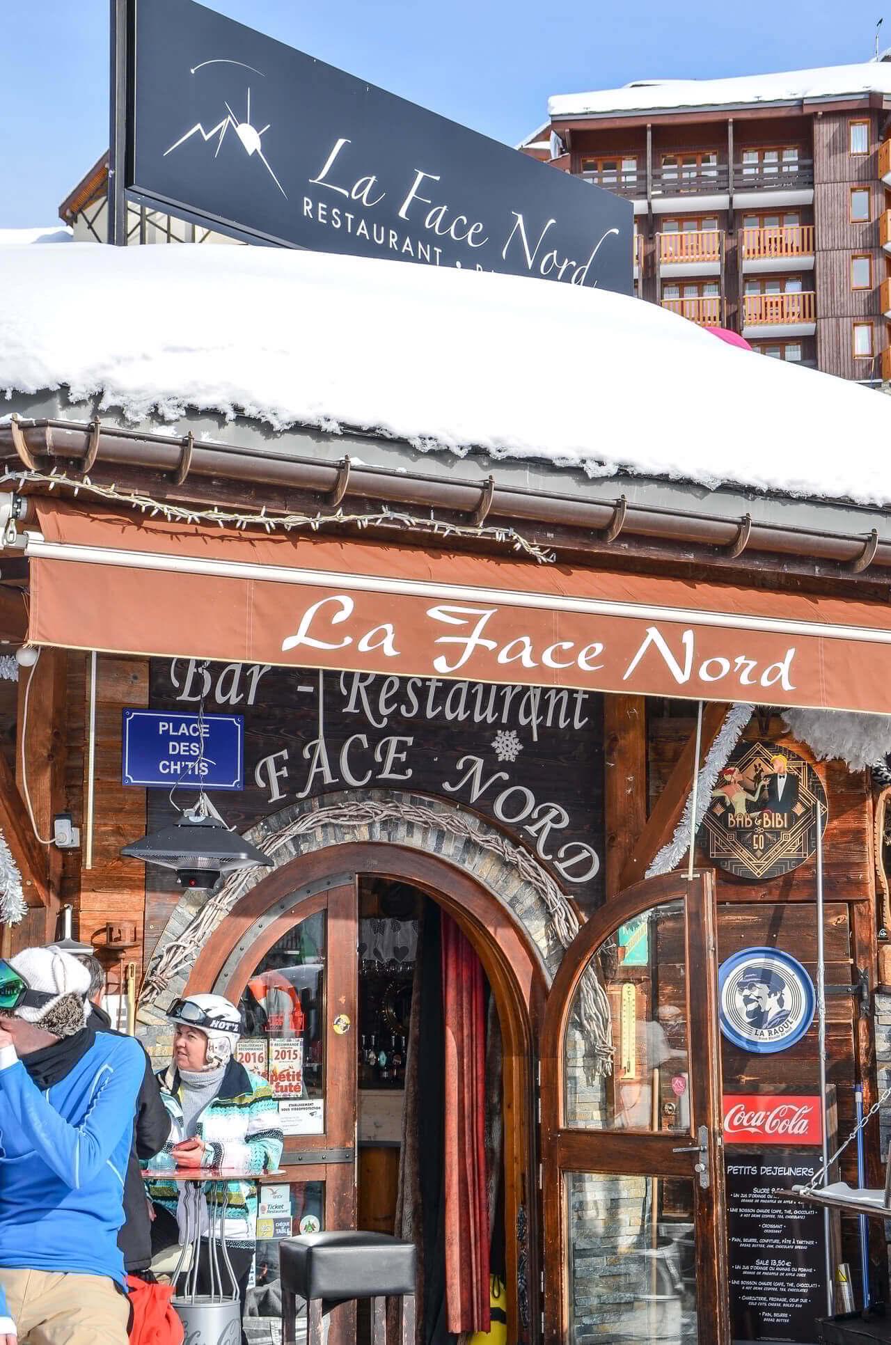 CDF La Face Nord La Plagne Hiver-2020 Extérieur © Infosnews-3