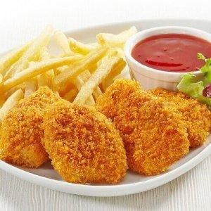 nuggets de poulet frites